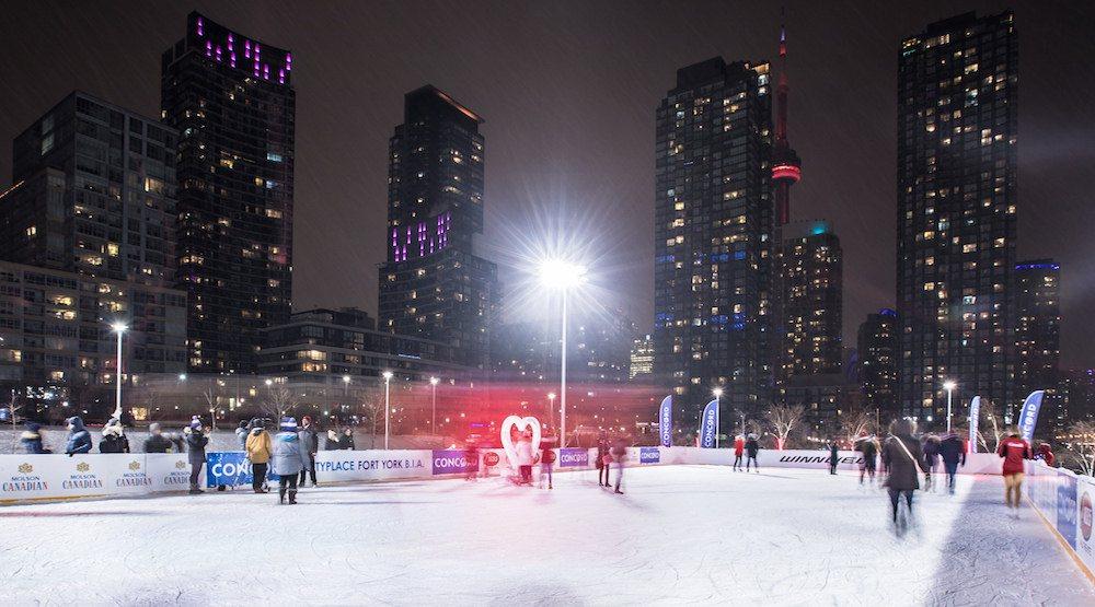 City place skating