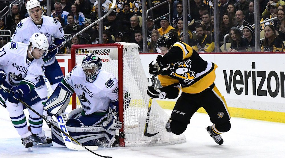 Miller canucks penguins