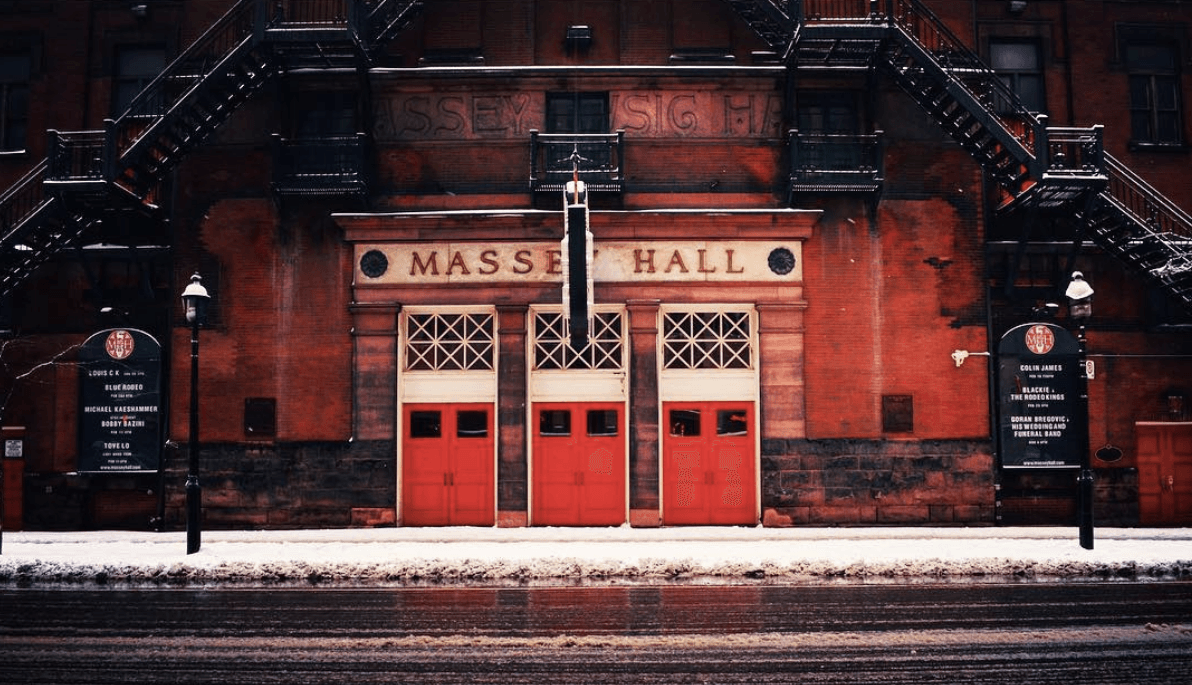Toronto's historic Massey Hall is getting an $8M revitalization