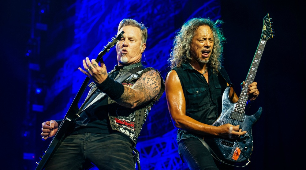 Metallica is performing at Parc Jean Drapeau this summer