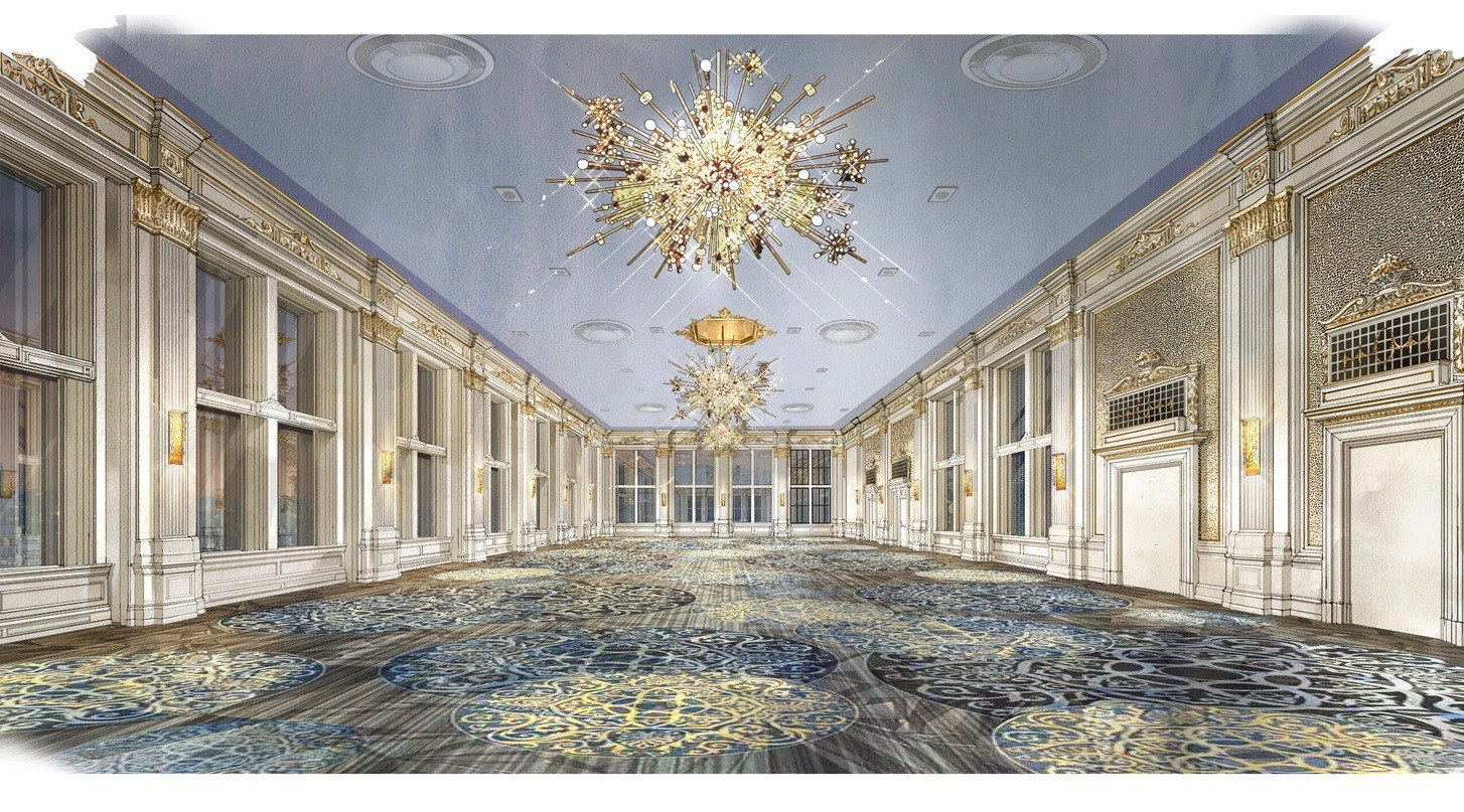 This is what the King Edward Hotel's newly restored Crystal Ballroom will look like