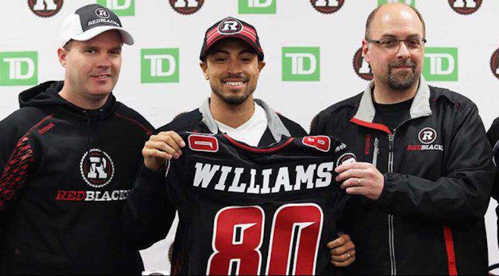 Report: BC Lions sign free agent wide receiver Chris Williams to 2-year deal