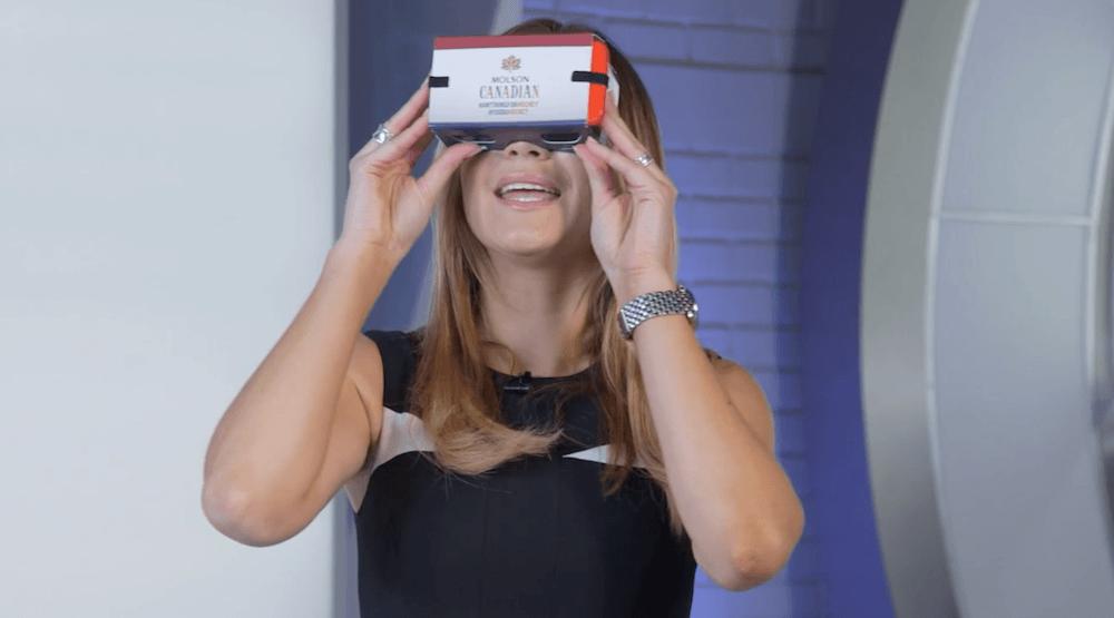Sportsnet molson virtual reality
