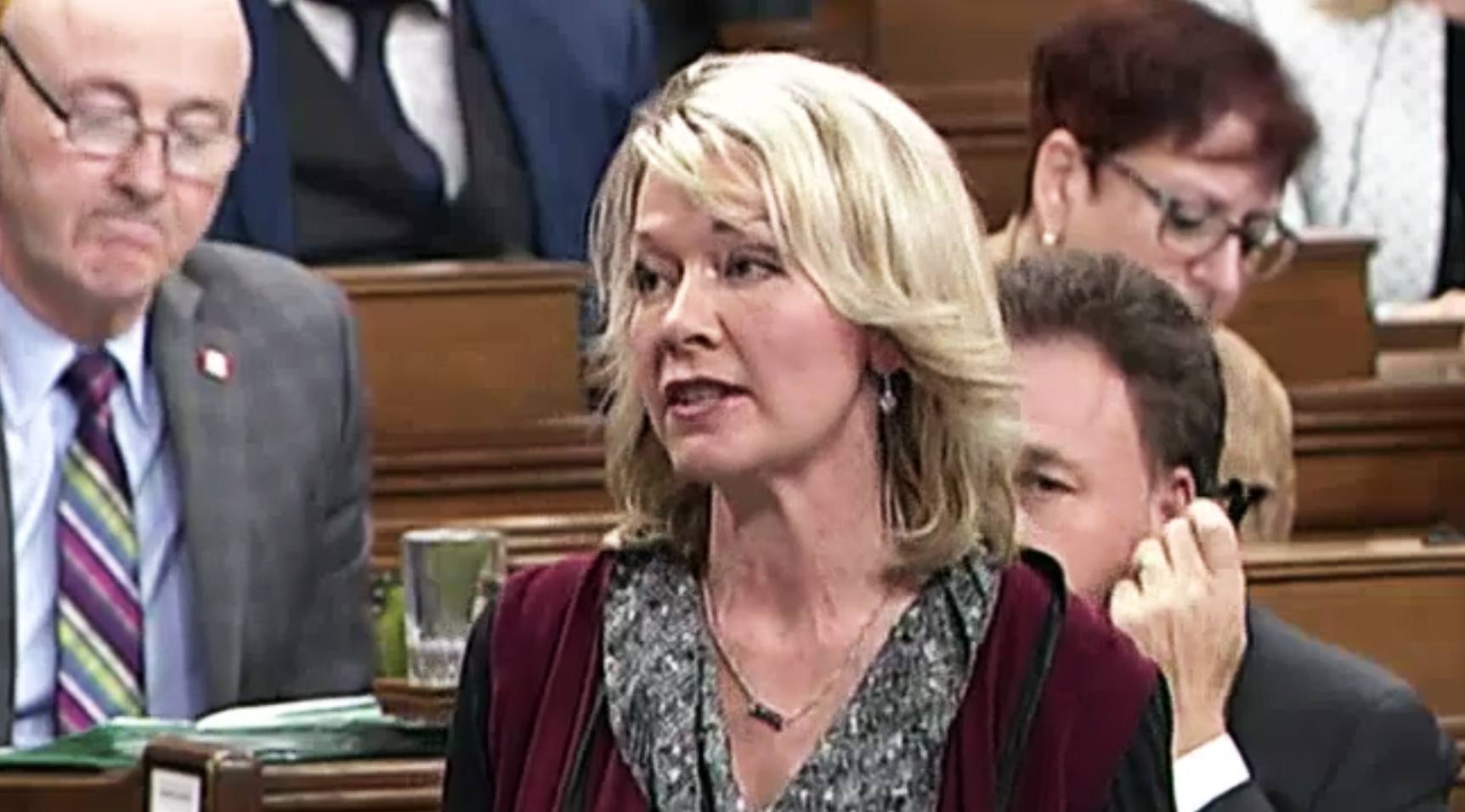 Conservative mp candice bergen in the house of commons