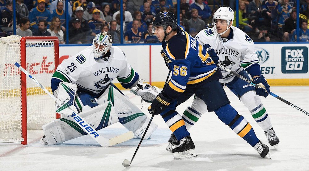 SixPack: Markstrom struggles in Canucks loss to Blues