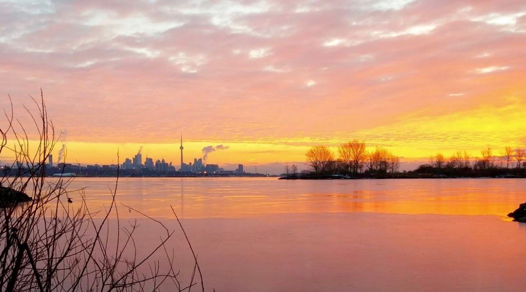This morning's sunrise over Toronto was spectacular (PHOTOS)