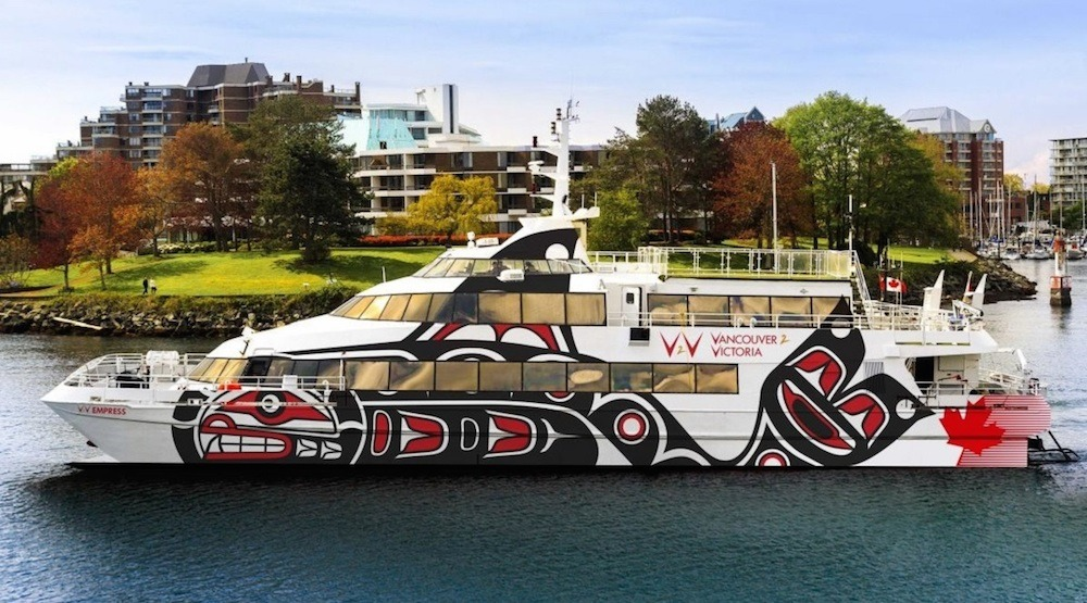 Downtown Vancouver to Victoria Inner Harbour passenger ferry service begins on May 1