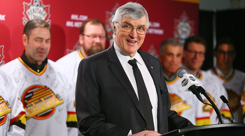 Canucks to unveil Pat Quinn statue outside Rogers Arena today