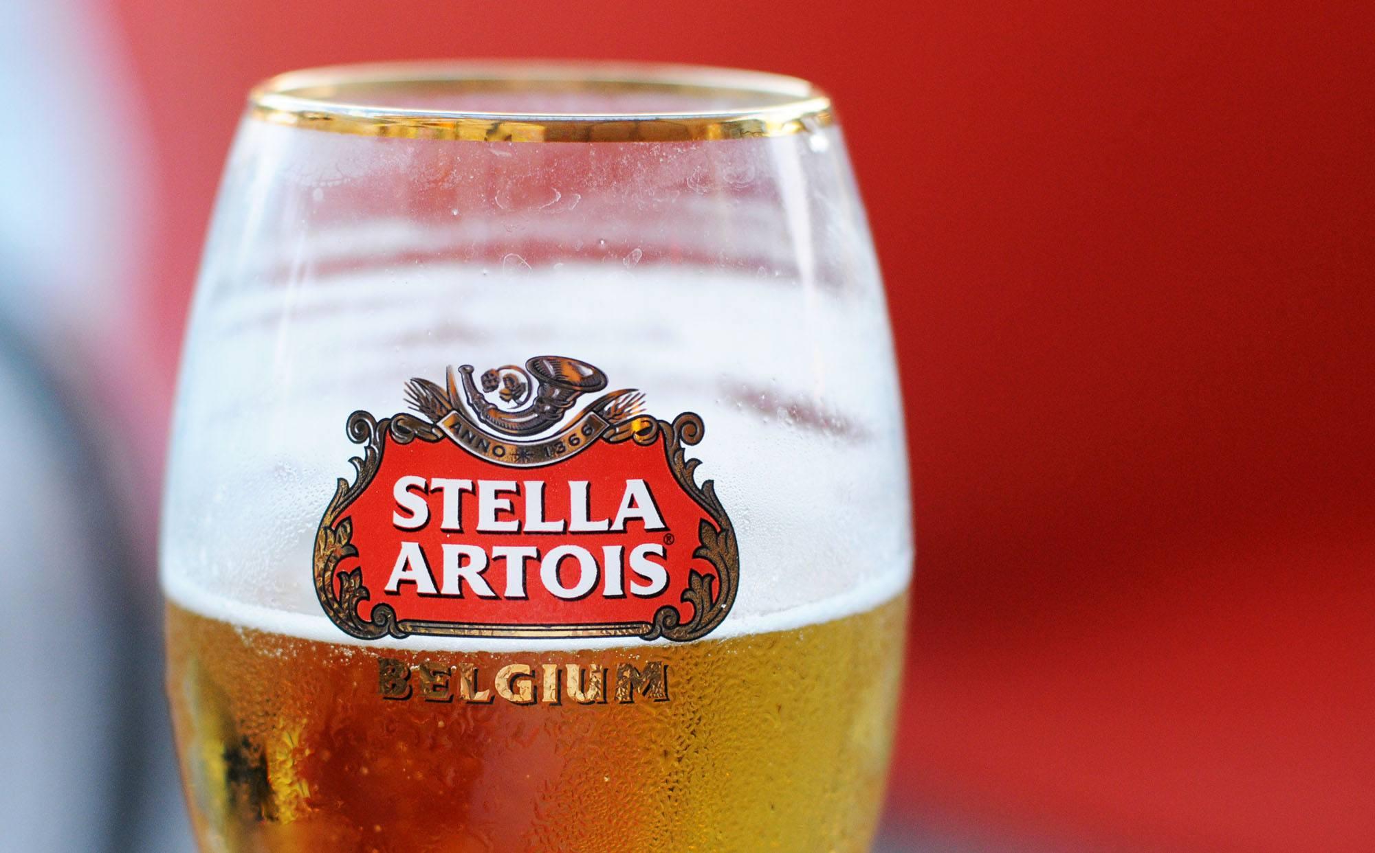 Stella beer (Annavee/Shutterstock)