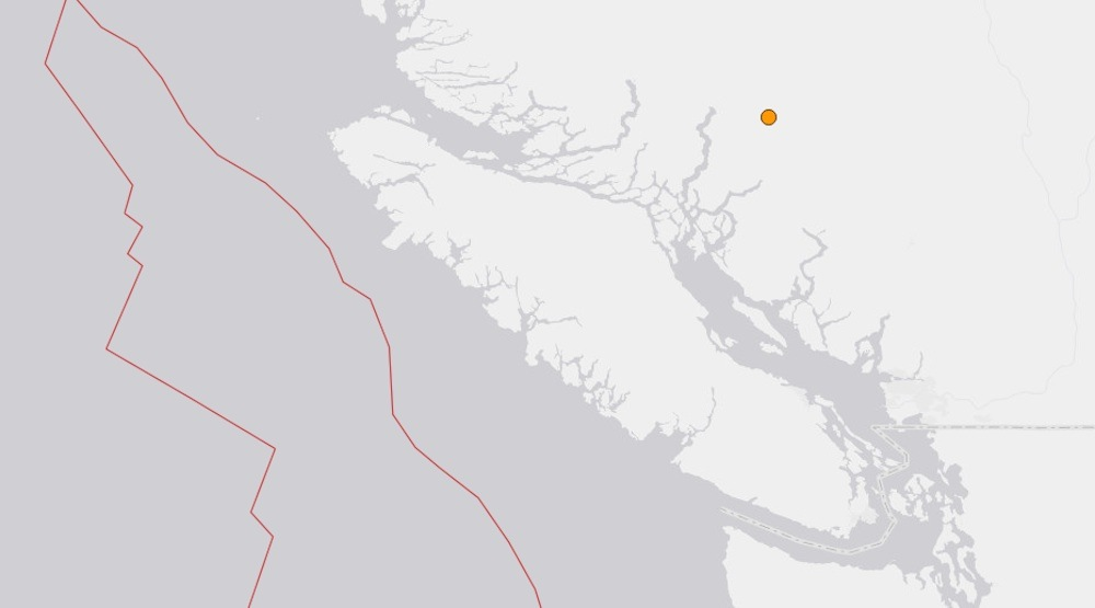 Magnitude 4 earthquake strikes BC Interior