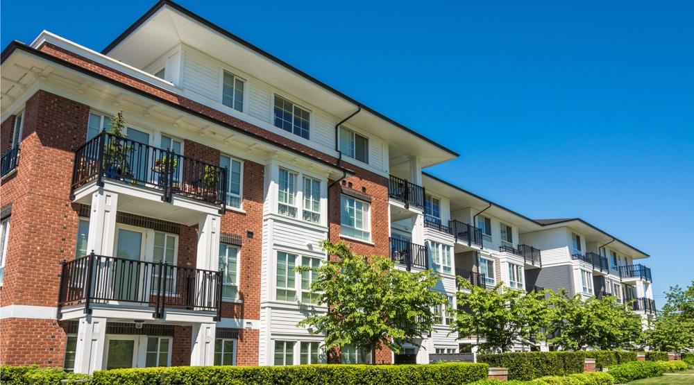 Low rise apartment building in bc shutterstock