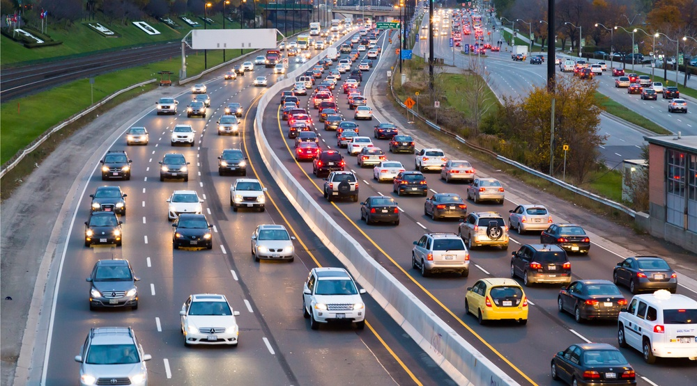 The average number of hours Toronto drivers spend in traffic every year
