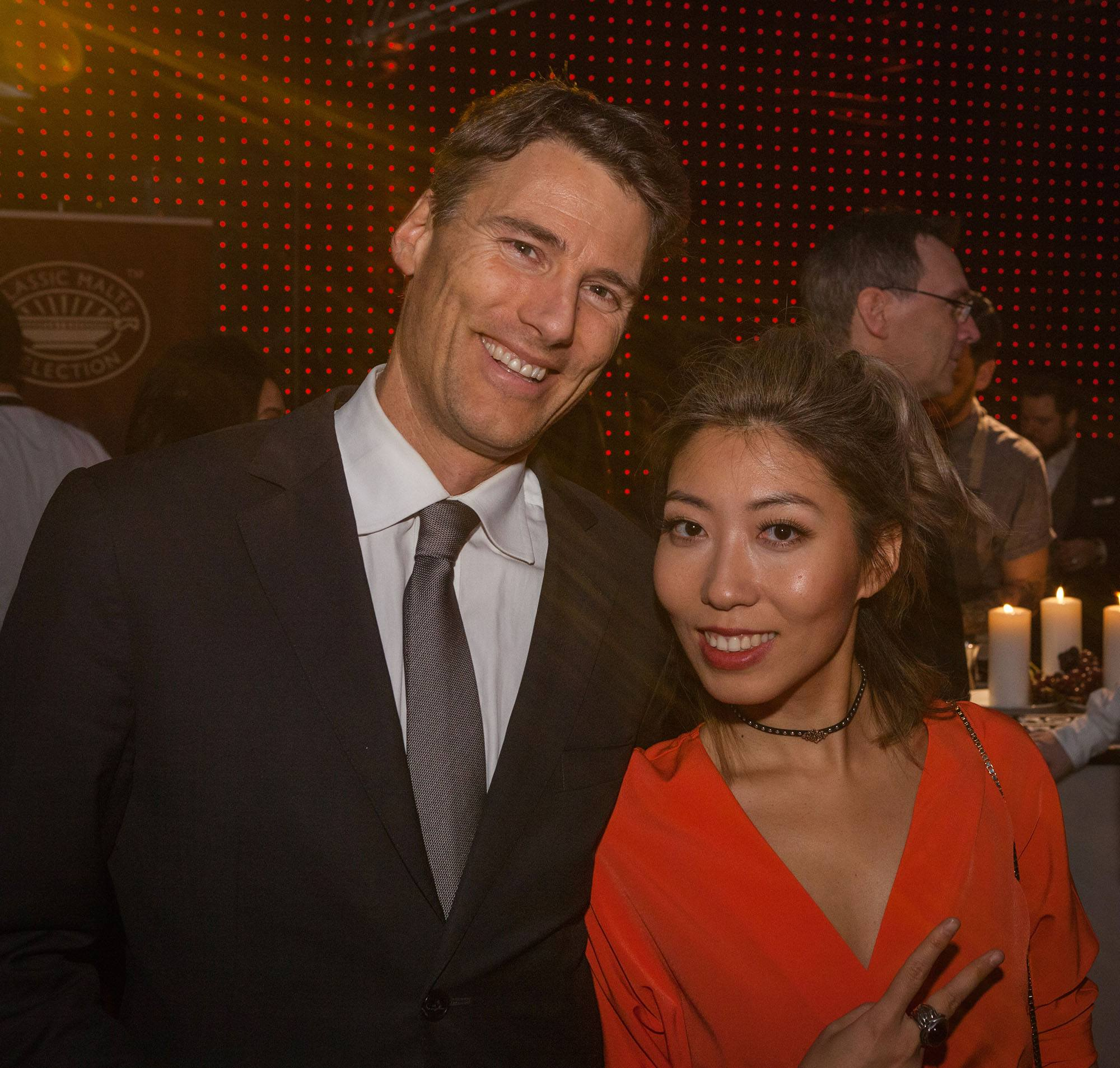 Vancouver mayor gregor robertson and girlfriend wanting qu at science of cocktails 2016 picture listen photography