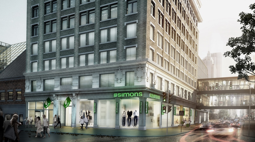 Simons the core exterior rendering
