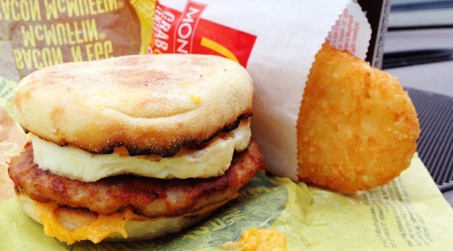 Mcmuffin hashbrowns