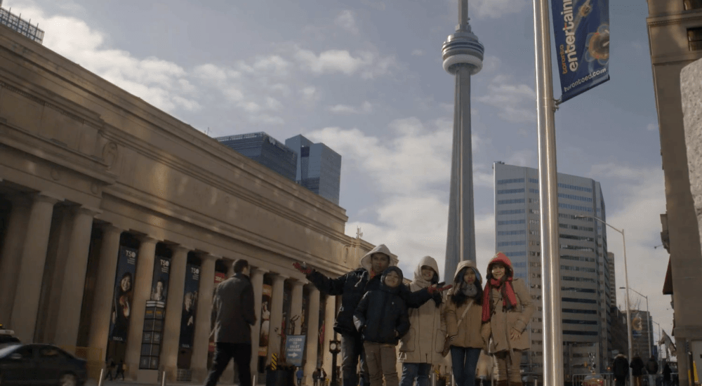 Toronto filmmaker documents first 150 days of immigrant family in Canada (VIDEO)