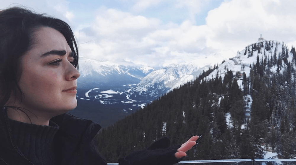 Game of Thrones' Arya Stark is in Alberta making appearances in Banff and Calgary (PHOTOS)
