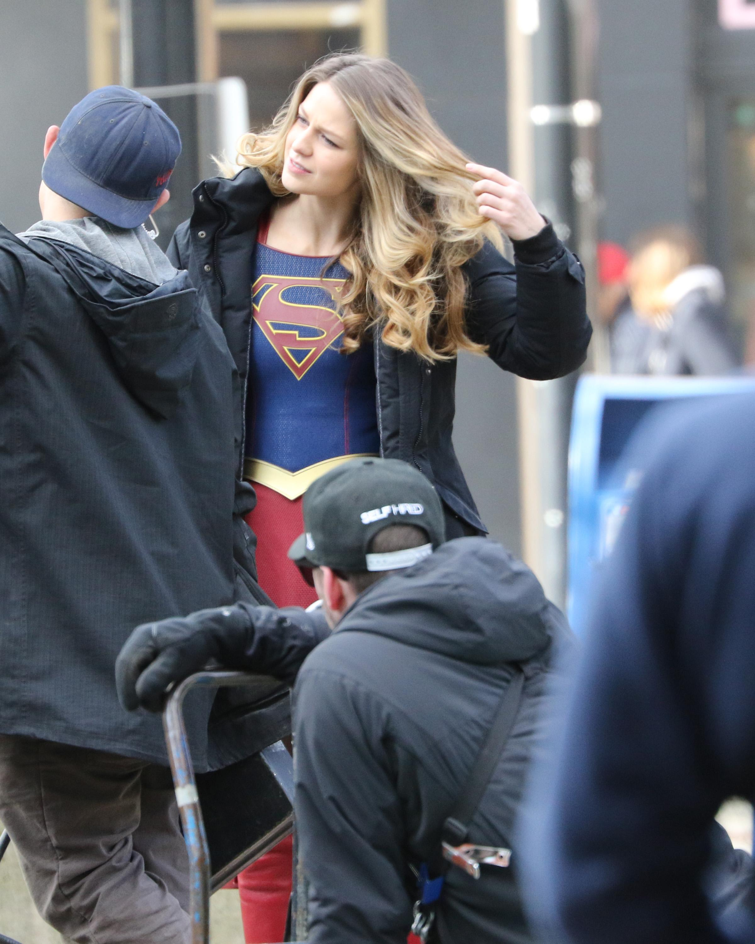 Kevin Smith Directs Supergirl In Downtown Vancouver