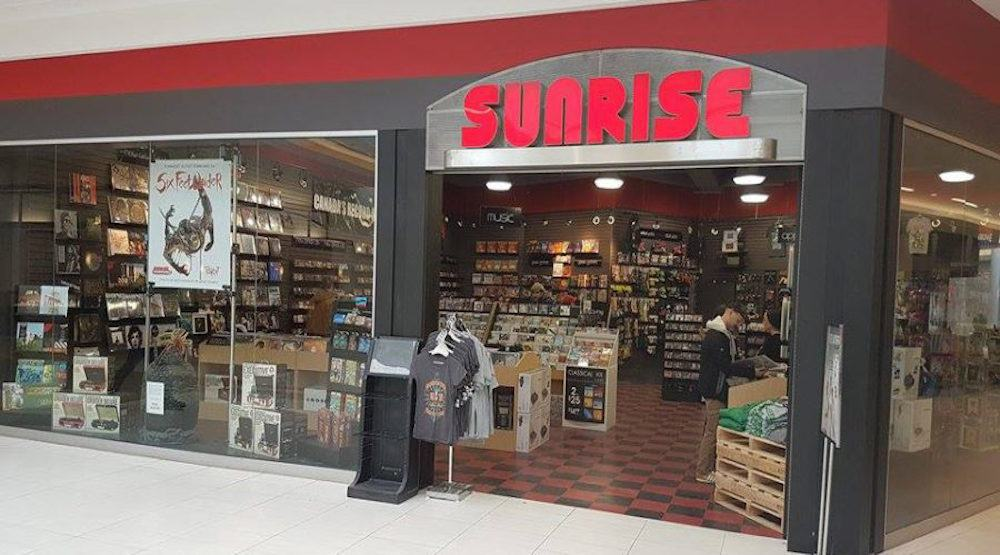 Sunrise Records to take over 70 HMV locations across Canada