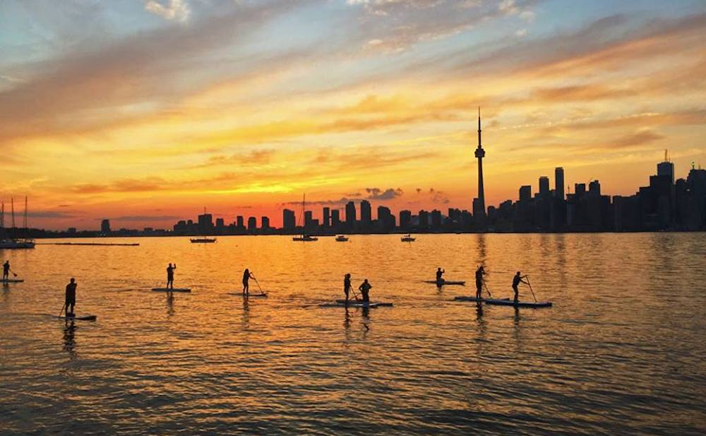 Toronto is going to become a more paddling and fishing friendly city