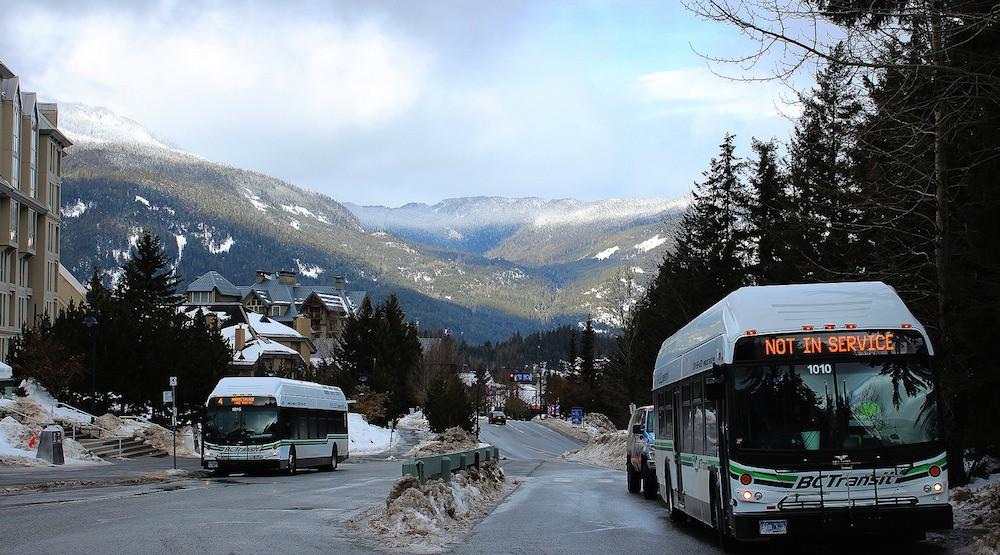 Bc transit bus whistler