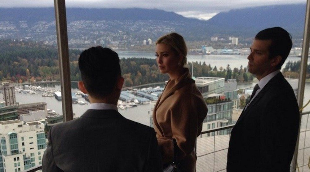 Trump organization shares 'alternative facts' about Vancouver tower