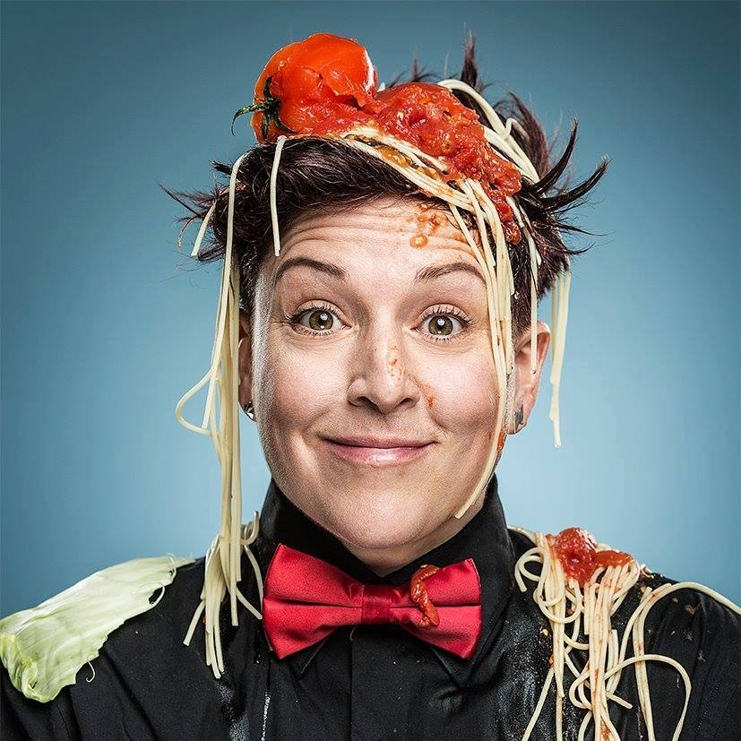 Comedian Amy Wilding (Shimon Karmel)