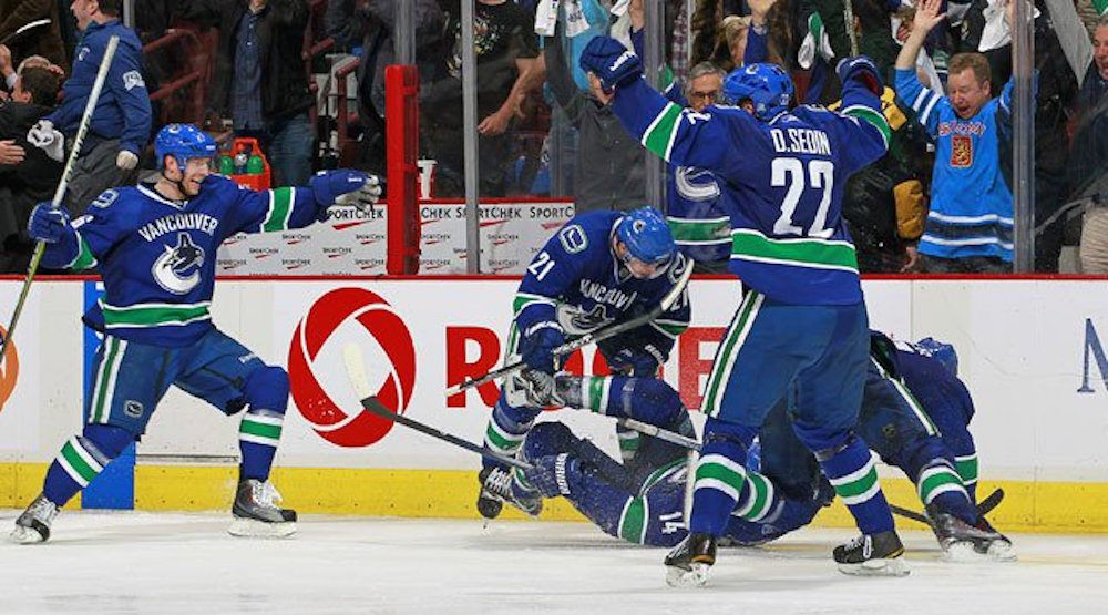 Relive Alex Burrows' greatest game with the Vancouver Canucks