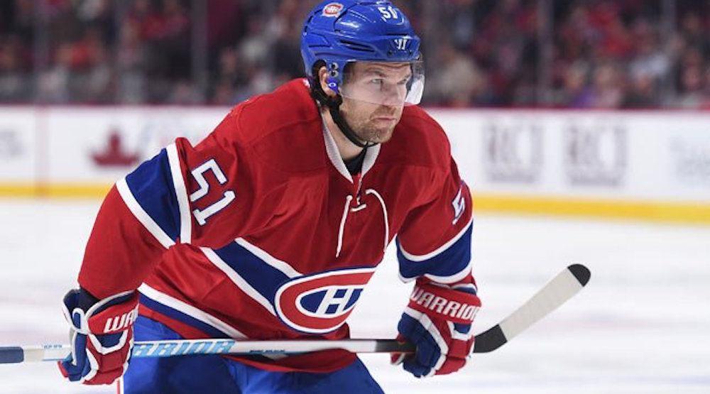 Canadiens trade Desharnais, acquire Ott, Davidson on Deadline Day Eve
