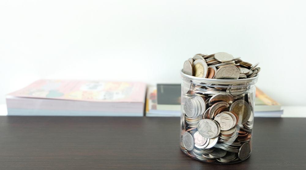 Money in a jar shutterstock