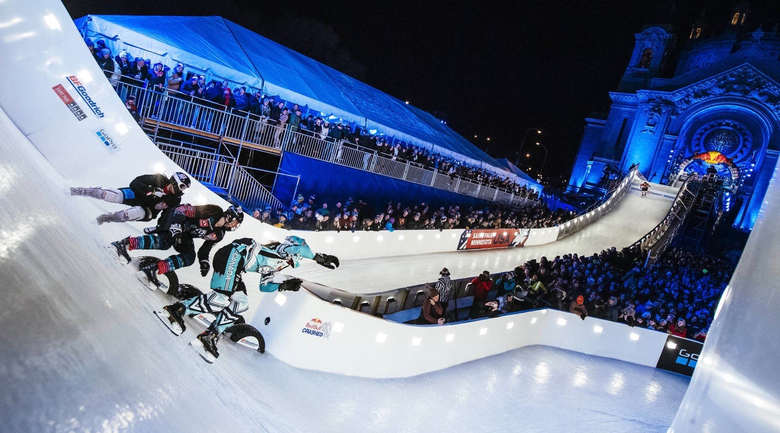Red Bull Crashed Ice takes place this weekend and it looks insane