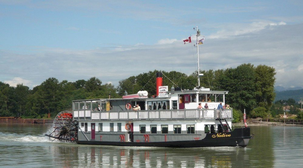 Someone tried to steal a paddlewheeler in New West