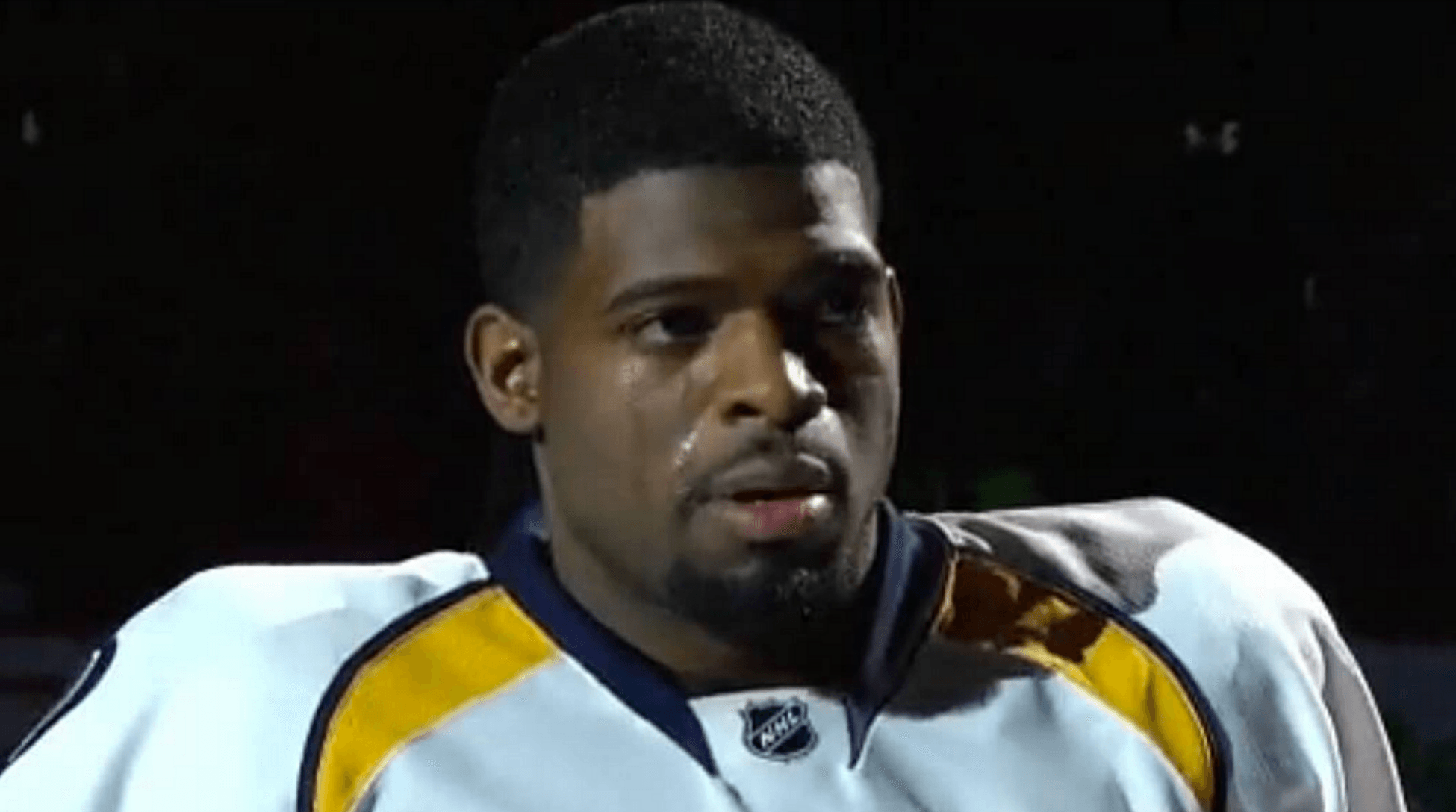 P.K. Subban honoured by the Canadiens at last night's game