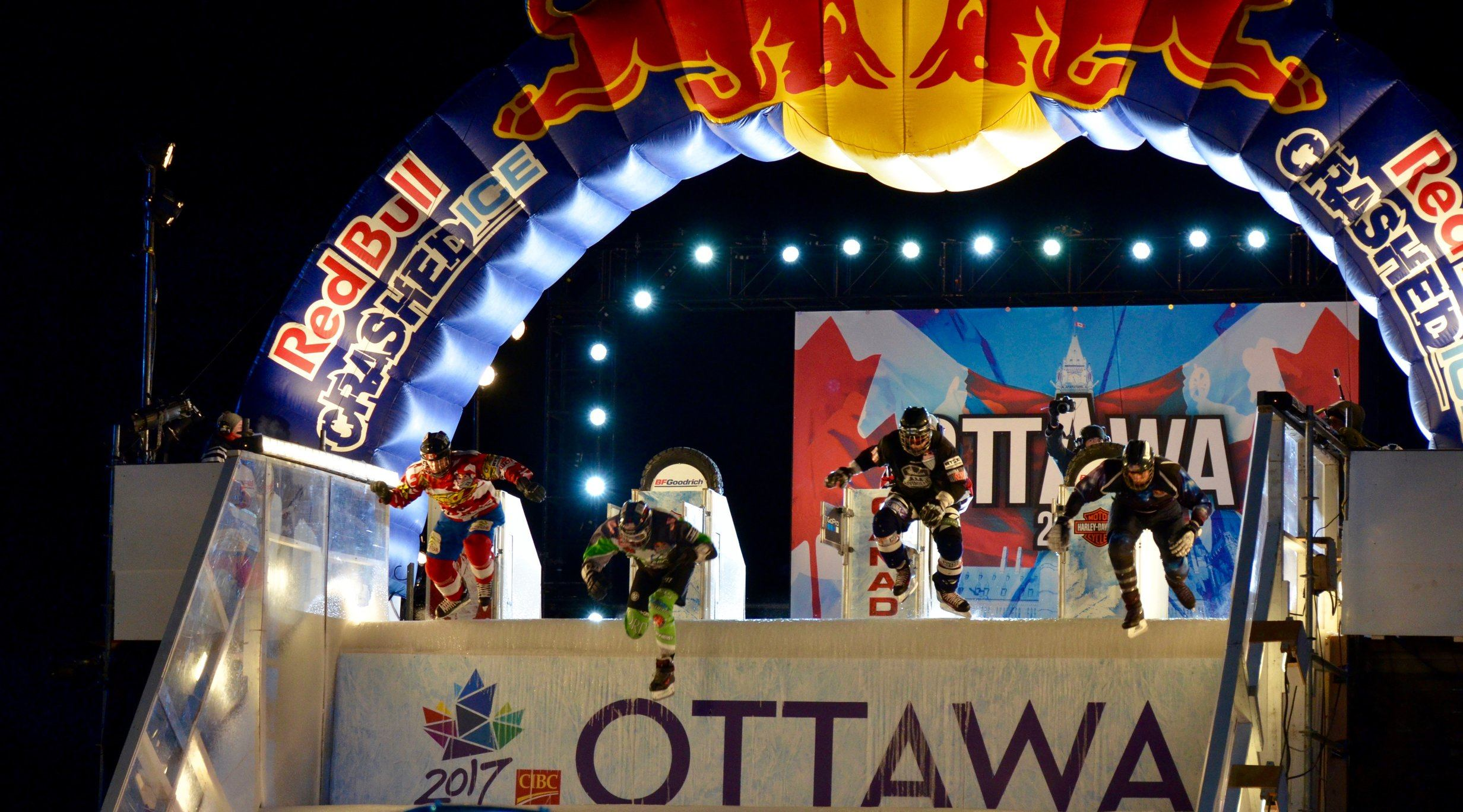 We went to Red Bull Crashed Ice in Ottawa and it (almost) gave us wings (VIDEO)