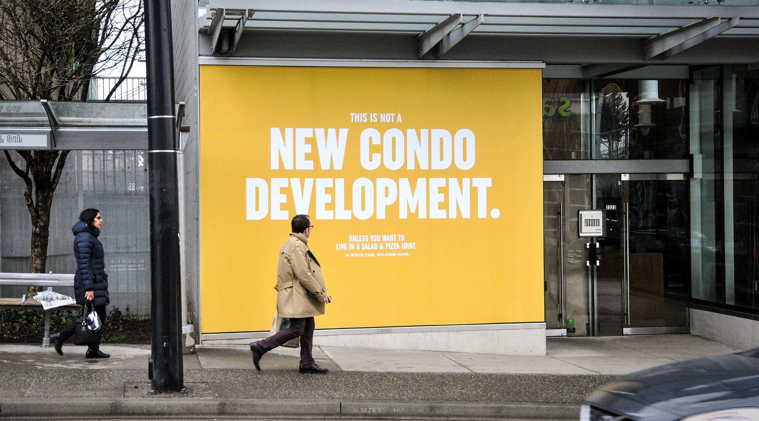 New Vancouver restaurant ad mocks rampant condo development