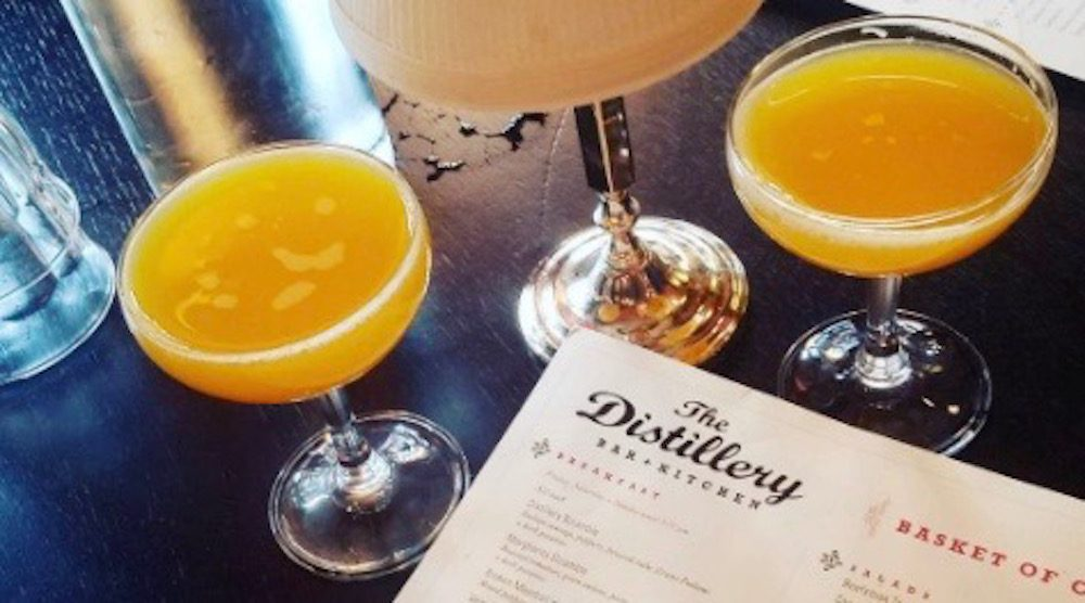 The Distillery Bar no longer serves bottomless mimosas