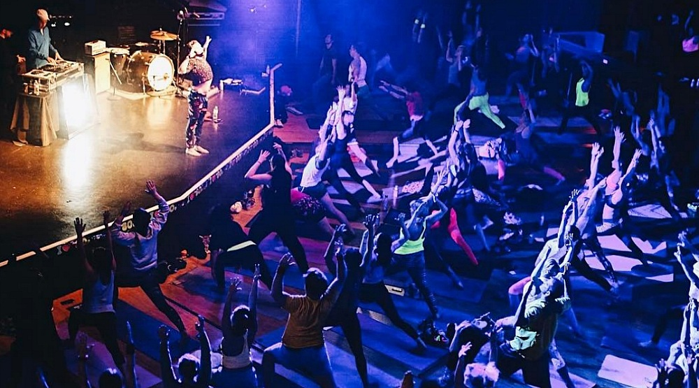 A dance and yoga party for women is happening in Montreal