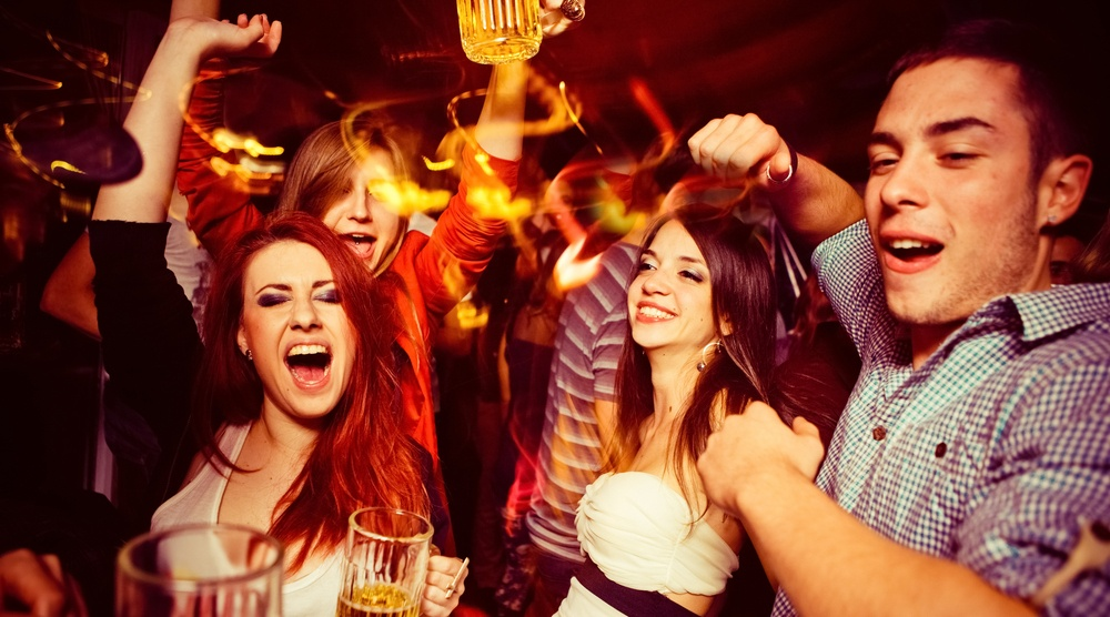 Partying shutterstock