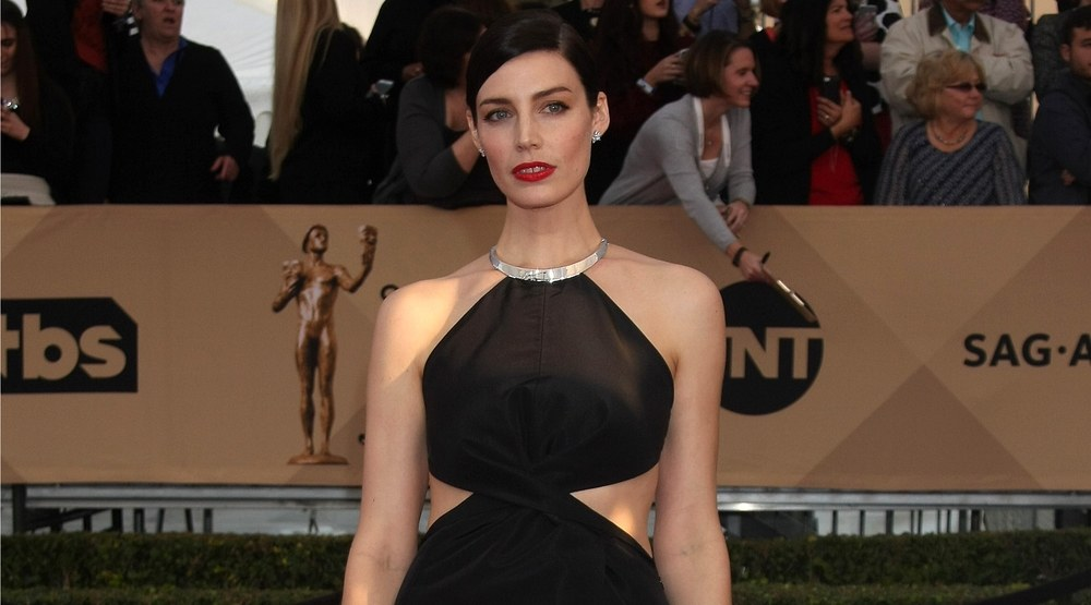 Jessica Pare at the 22nd Screen Actors Guild Awards at the Shrine Auditorium on January 30, 2016 in Los Angeles, CA