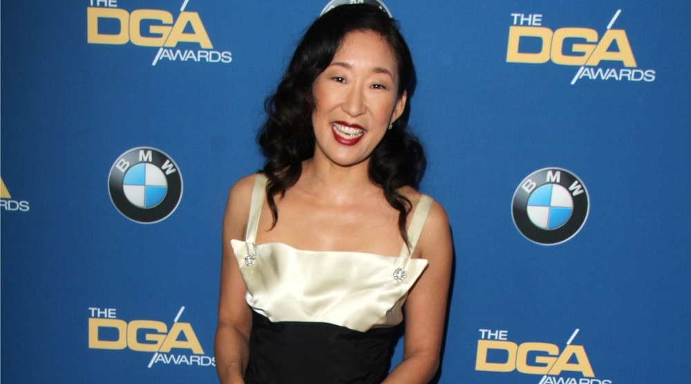 Sandra Oh at the 66th Annual Directors Guild of America Awards at Century Plaza Hotel on January 25, 2014 in Century City, CA