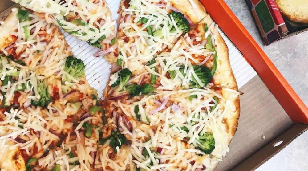 Pizza pizza vegan