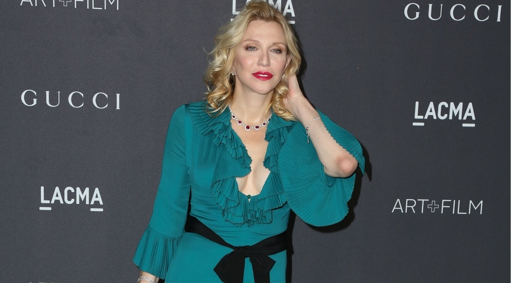 : Courtney Love at the 2016 LACMA Art + Film Gala at Los Angeels Country Museum of Art on October 29, 2016 in Los Angeles, CA