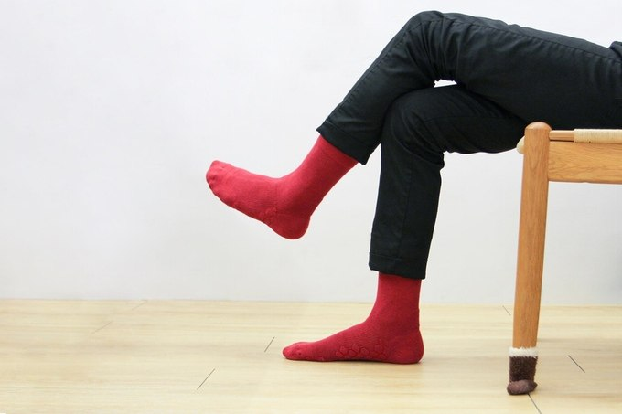 Neverquit socks are odour-free and stylish