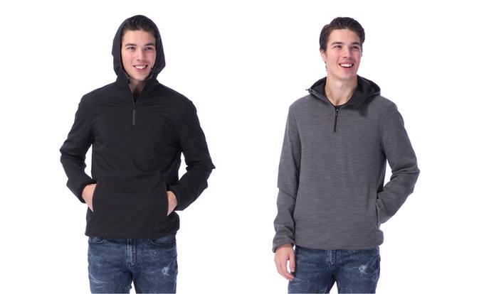 Merino Tech offers this 360 Hoodie, and the Minimal Jacket