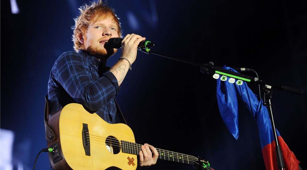 Ed Sheeran Montreal 2017 concert at Bell Centre