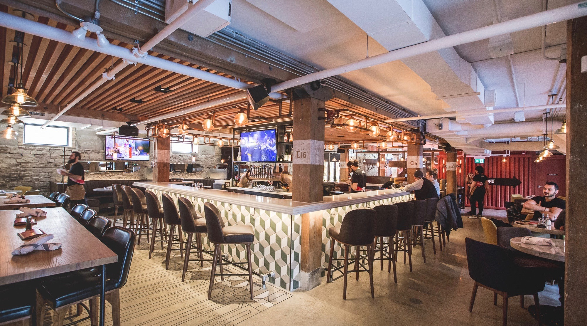 Inside Liberty Commons: Toronto's newest destination for pints and pub food