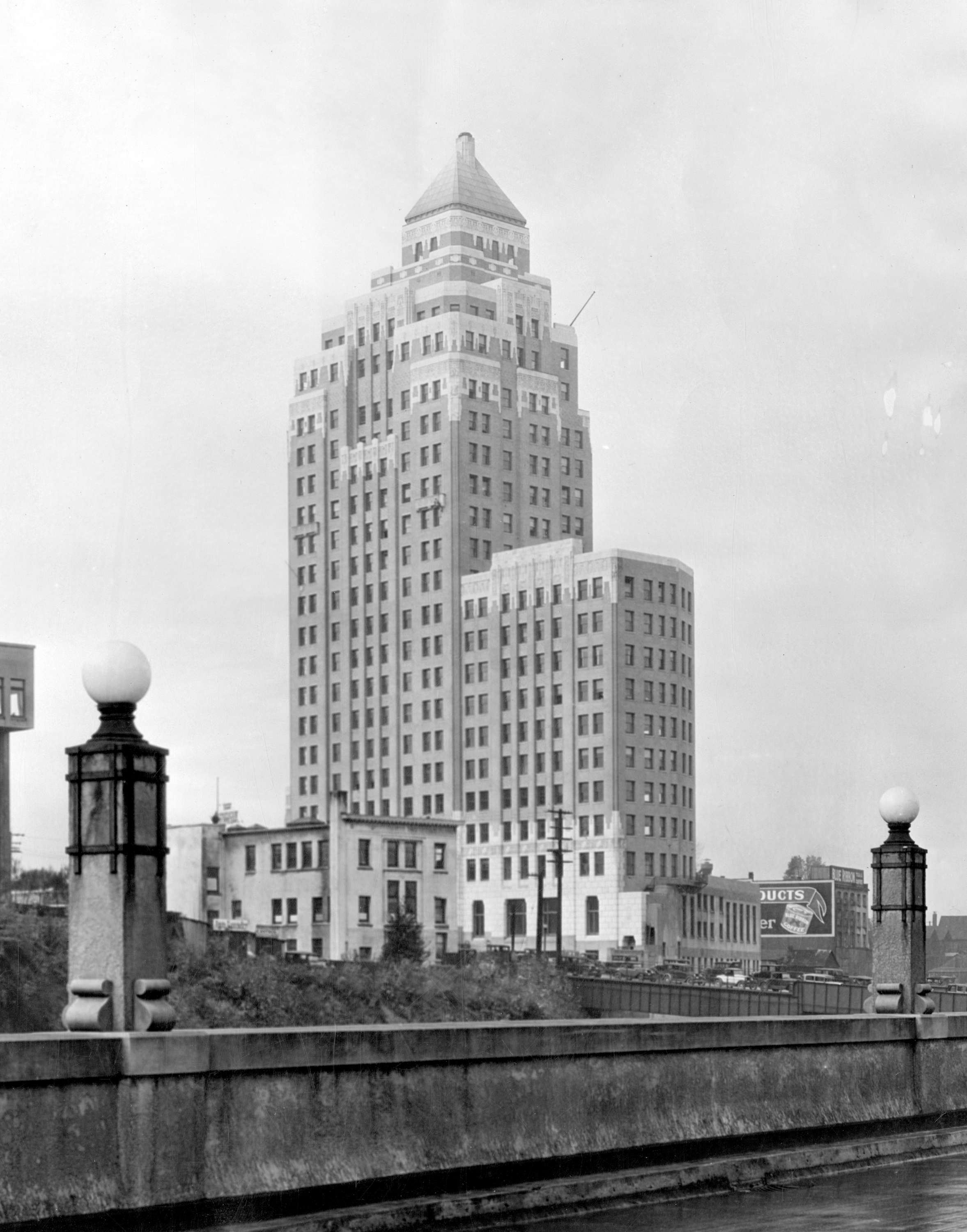 The Marine Building in the 1930s (Vancouver Archives)