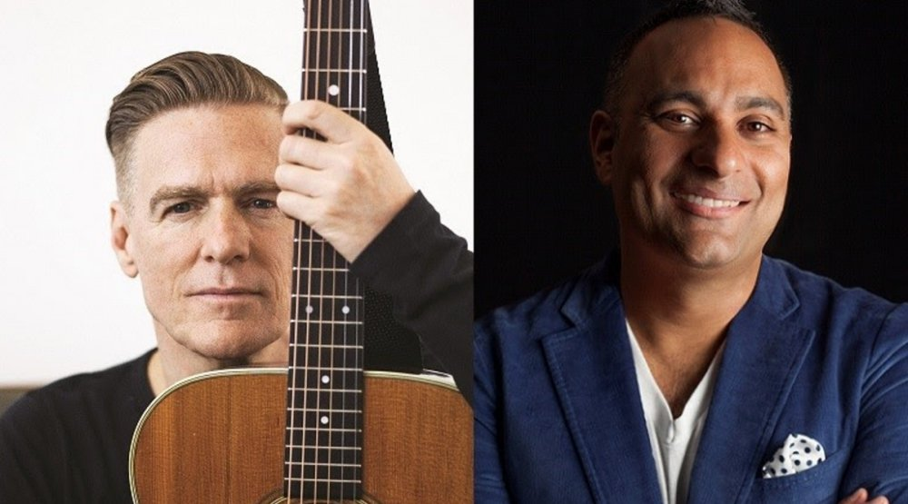 Bryan Adams and Russell Peters to host the 2017 Juno Awards