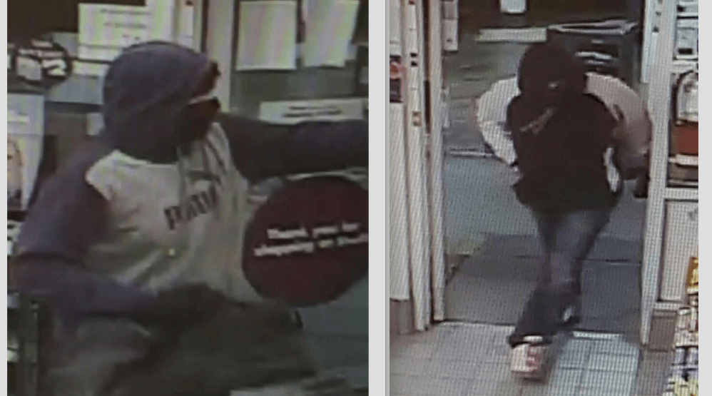 Suspects sought after gas station robbery in North Vancouver