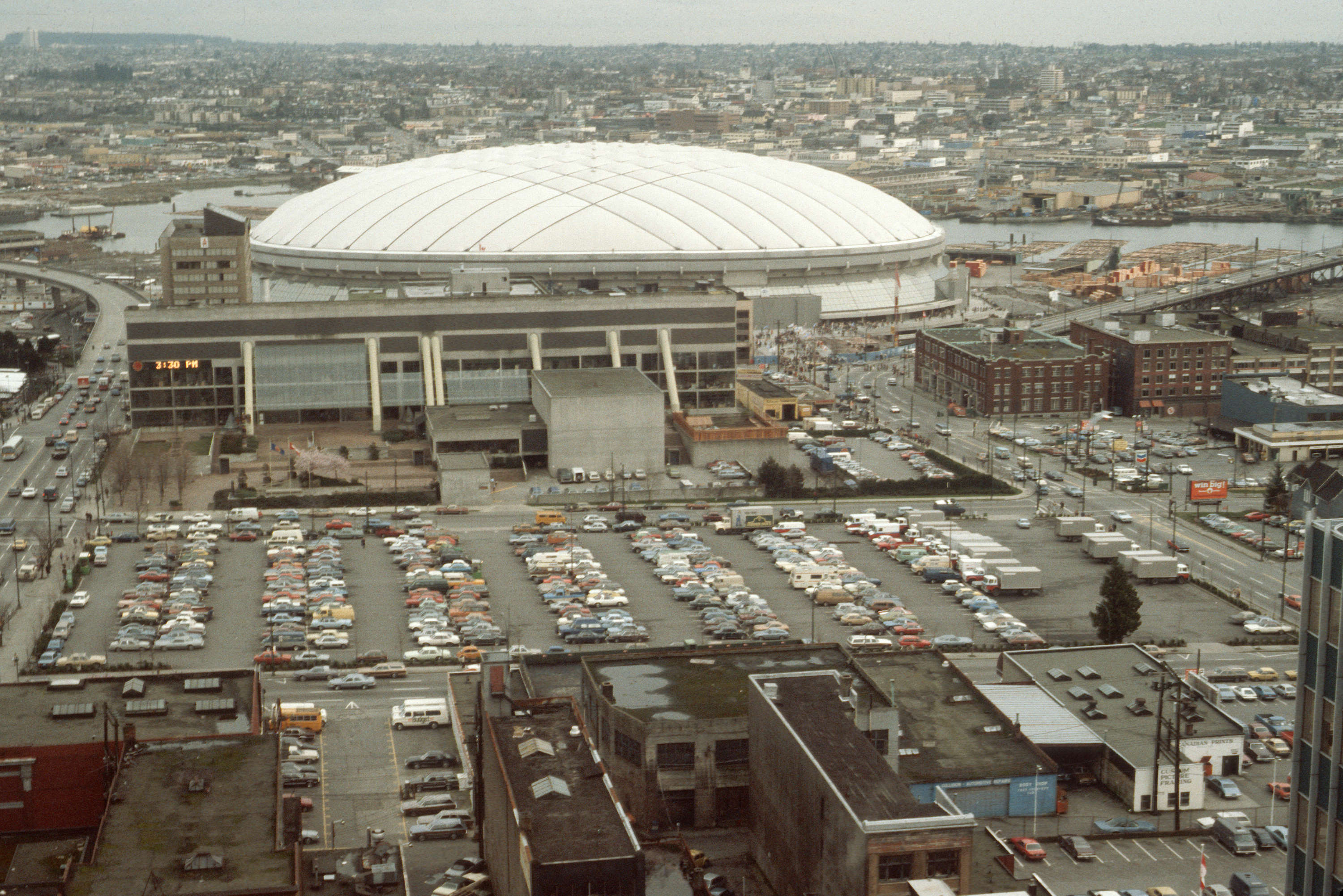 BC Place in 1983 (Vancouver Archives)